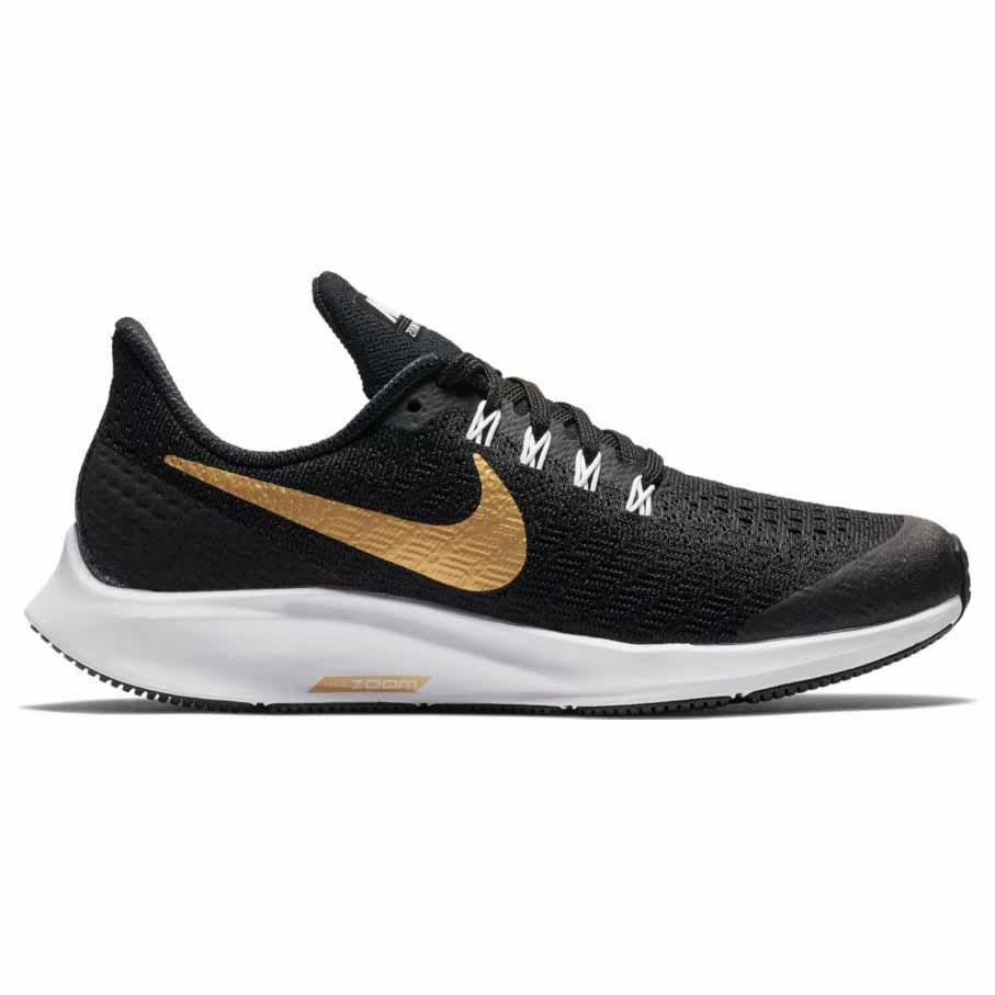 2ae5f551a Nike Air Zoom Pegasus 35 SH GS Black buy and offers on Runnerinn