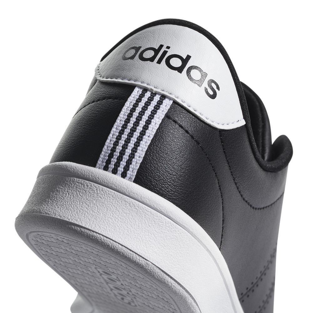 Tênis Adidas Advantage Clean Qt Feminino Branco e Preto