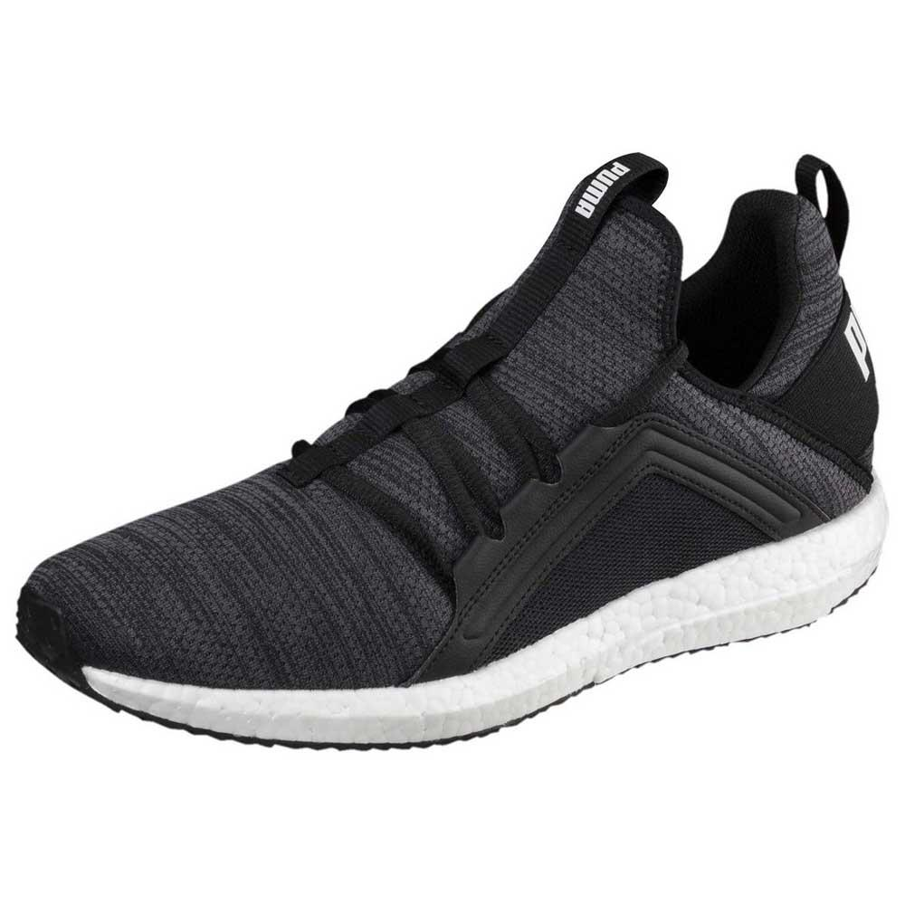b2900f263a8afc Puma Mega NRGY Heather Knit Grey buy and offers on Runnerinn