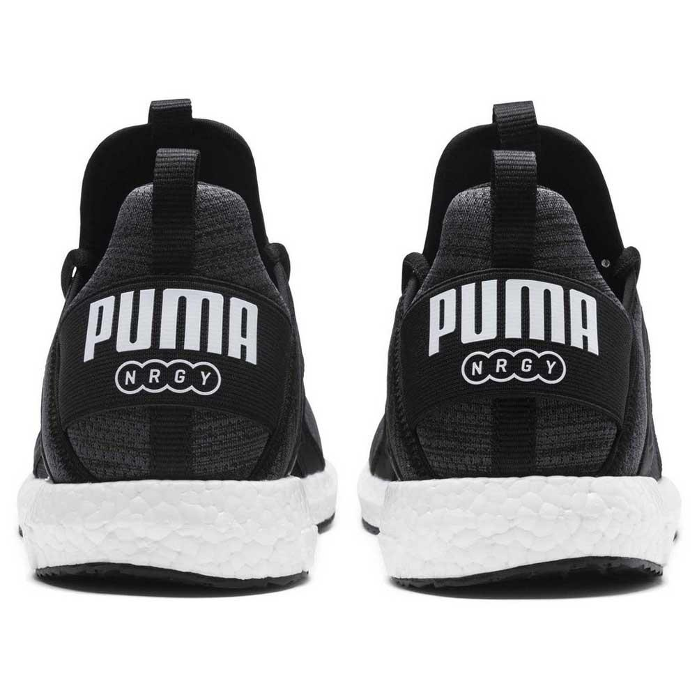 99efe34a2b99 Puma Mega NRGY Heather Knit Grey buy and offers on Runnerinn