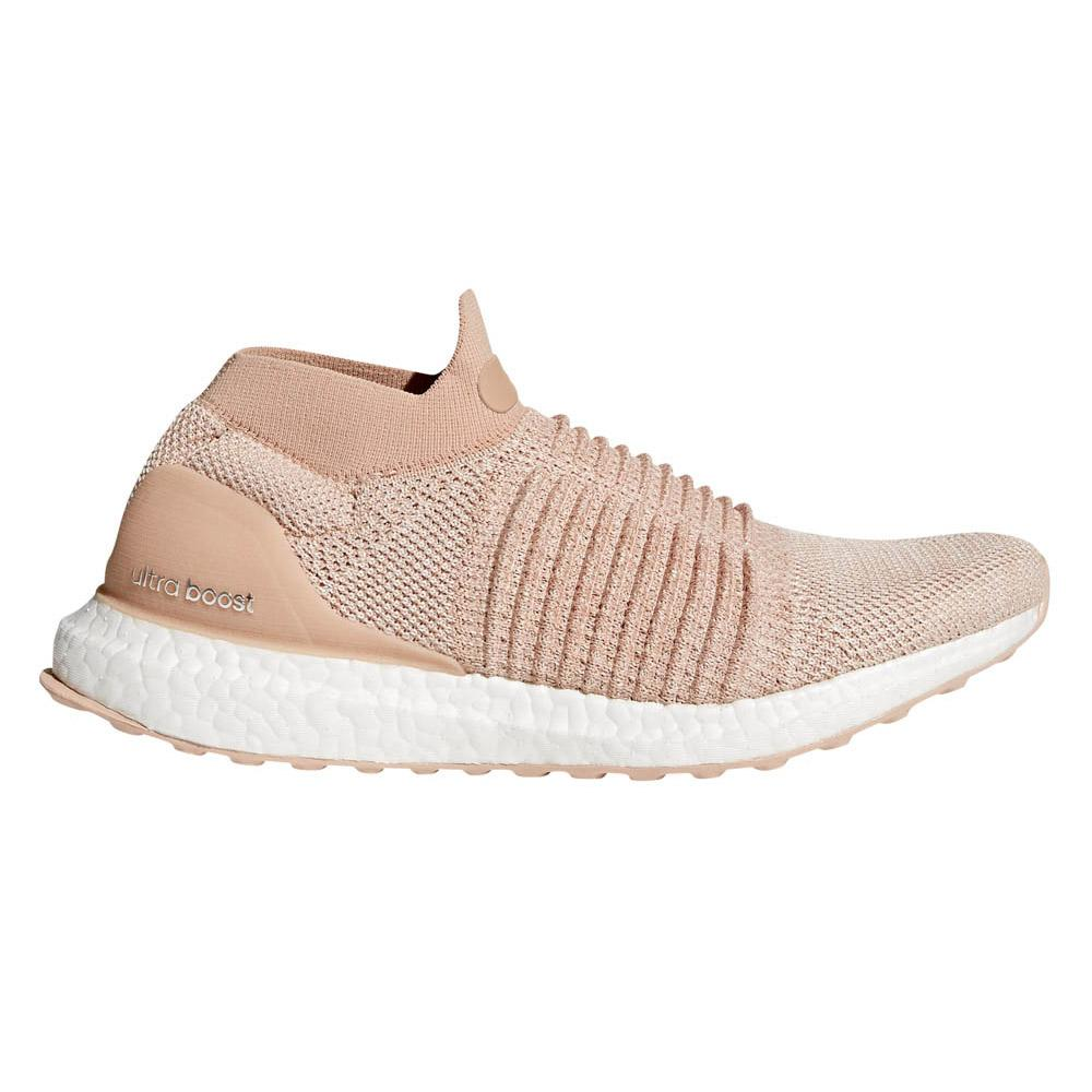 4666b7968 adidas Ultraboost Laceless Pink buy and offers on Runnerinn