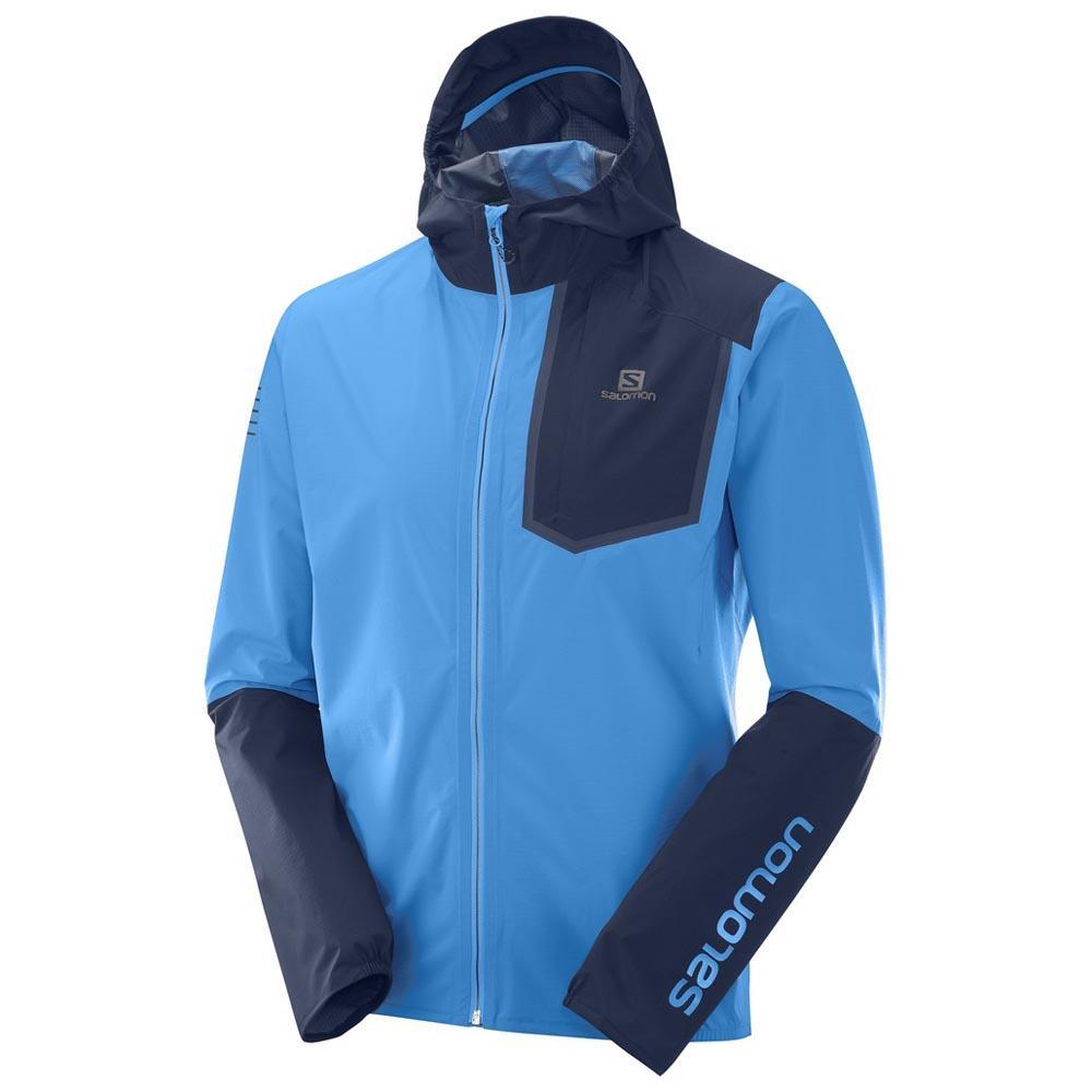 Salomon Bonatti Pro Impermeable Azul, Runnerinn