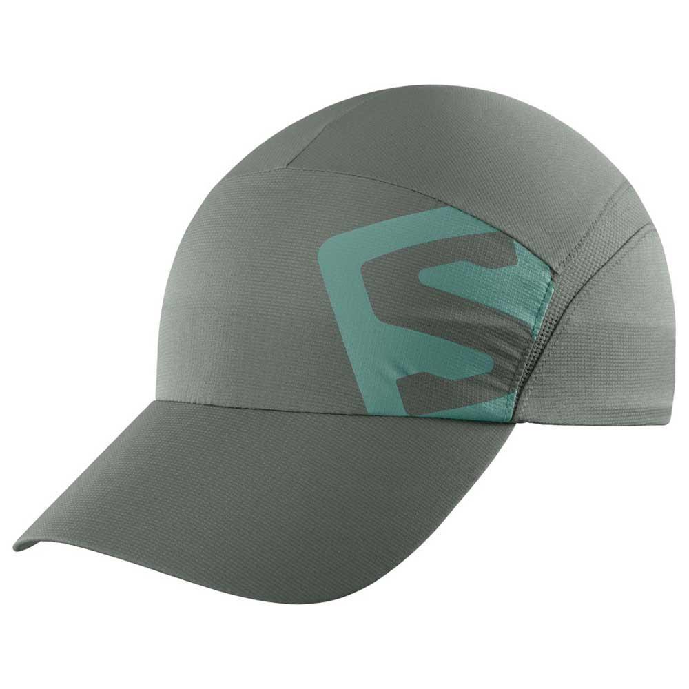 b988ebb13fb42 Salomon XA Cap Grey buy and offers on Runnerinn