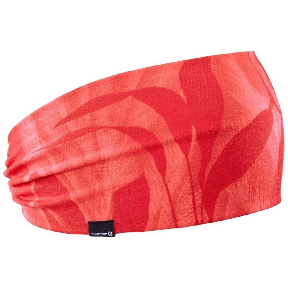 Salomon Light Headband Red buy and offers on Runnerinn 060875ef77