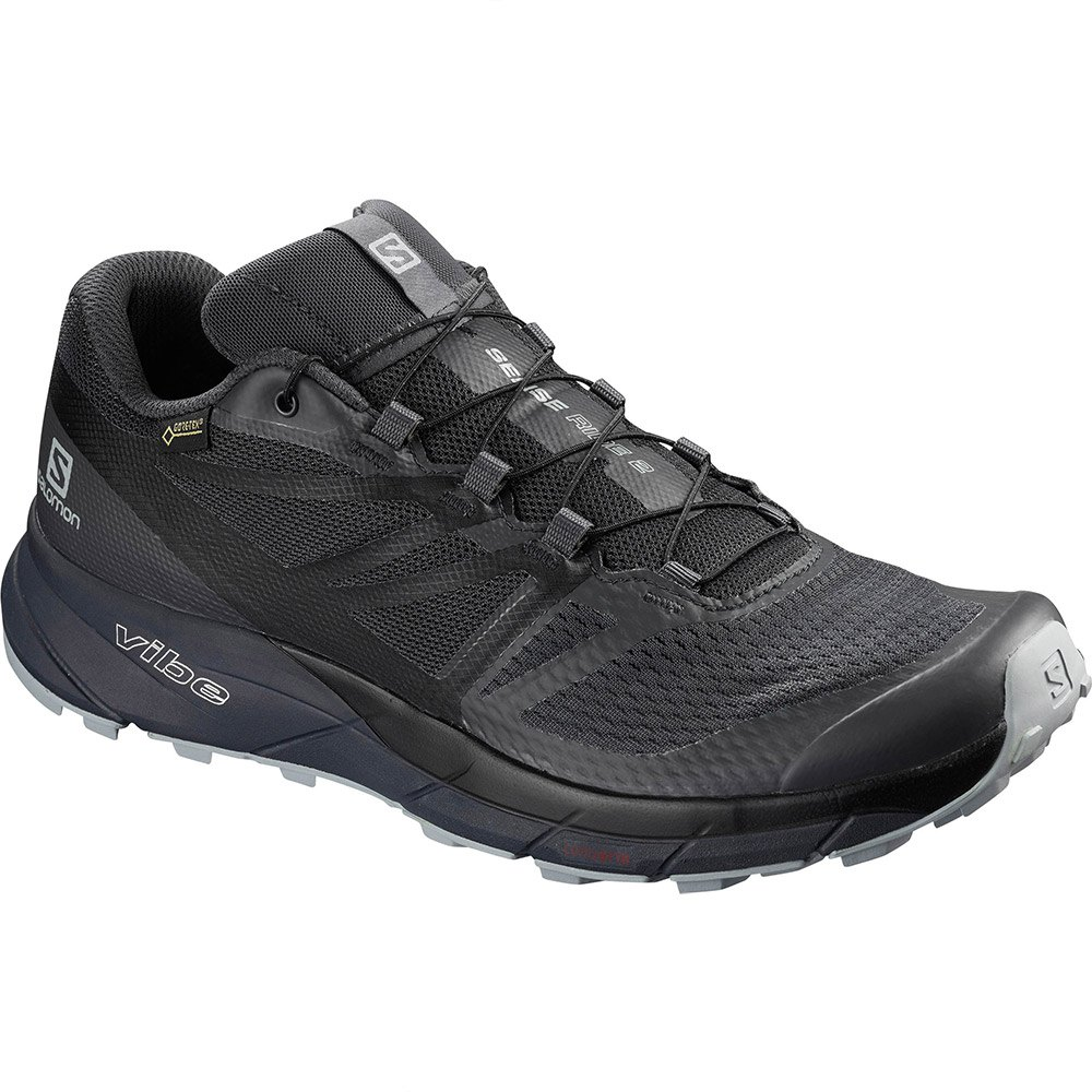 Gore Tex: test chaussures Salomon Sense Ride GTX Invisible Fit