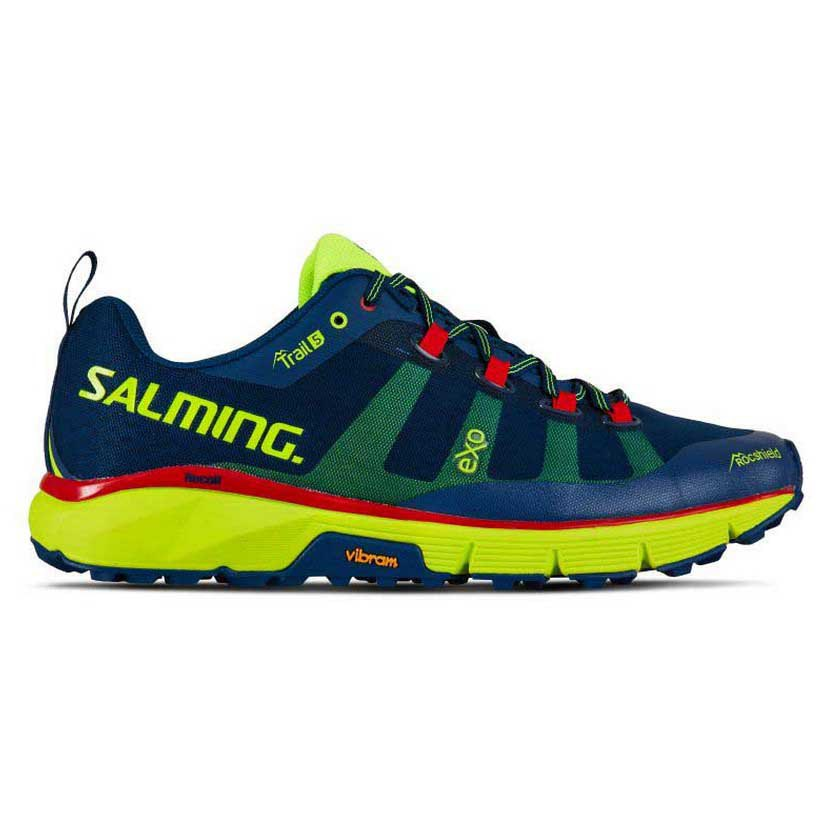 Salming Trail 5 EU 42 Poseidon Blue / Safety Yellow