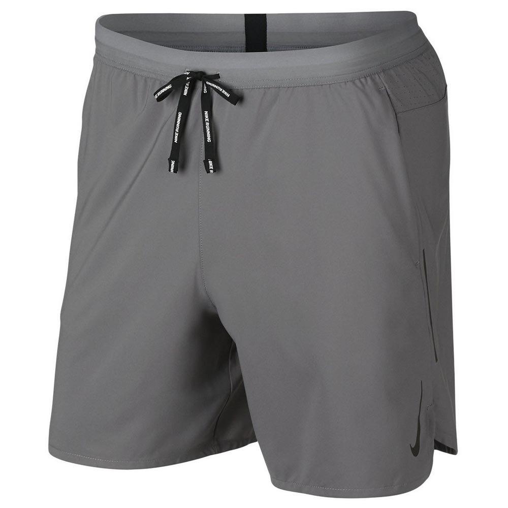 nike 2 in 1 shorts grau