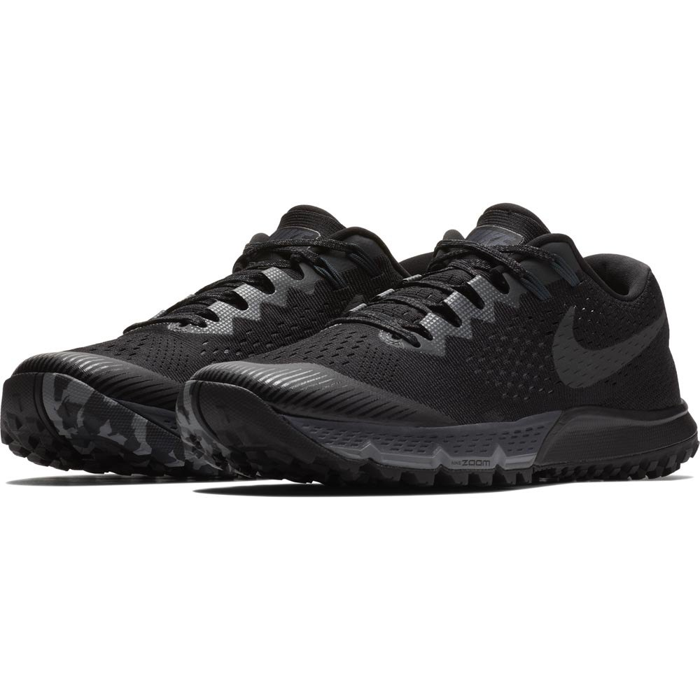 5a2d4847229b07 Nike Air Zoom Terra Kiger 4 Black buy and offers on Runnerinn