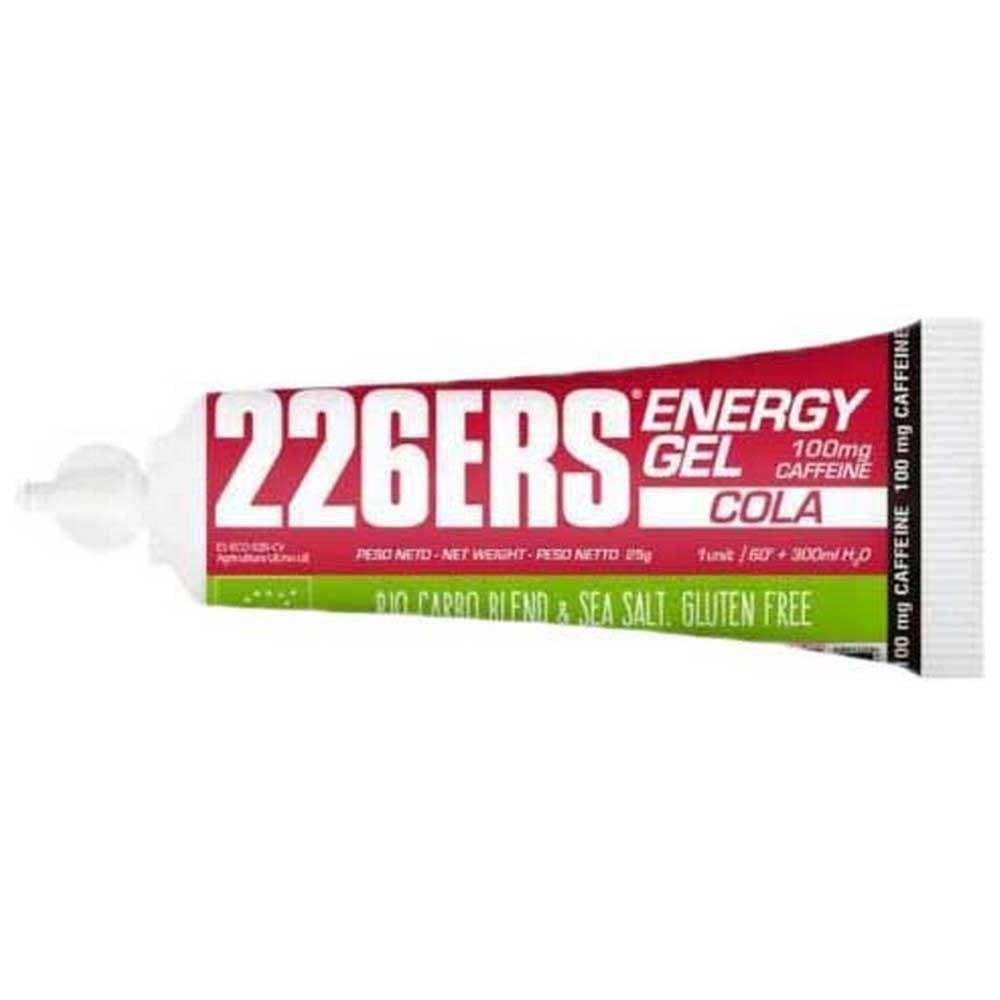 226ers Energy Gel Bio 100mg Caffeine 40 Units