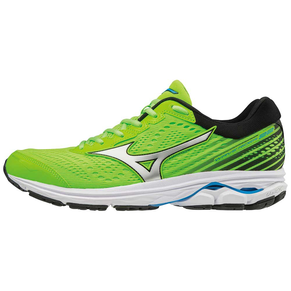 0791e5ee33bd Mizuno Wave Rider 22 Green buy and offers on Runnerinn