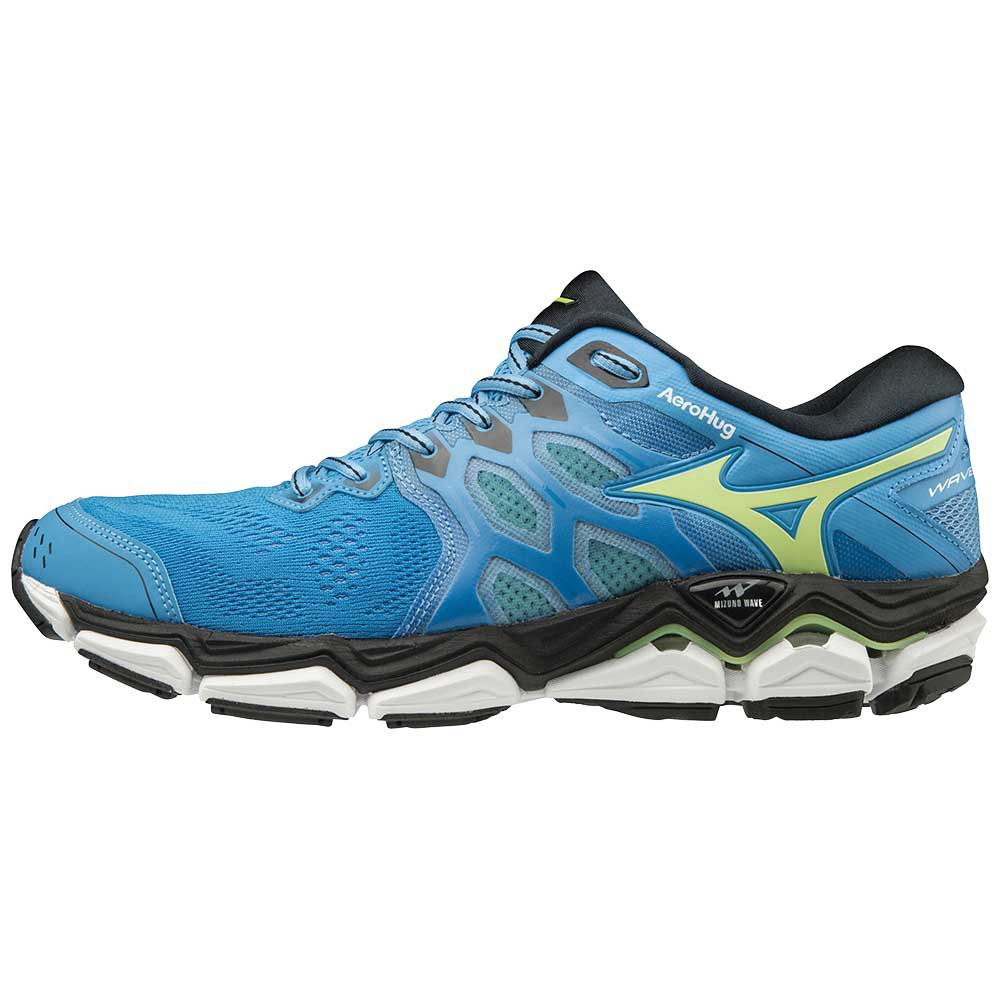 Mizuno Wave Horizon 3 Blue buy and offers on Runnerinn 2fa45262709