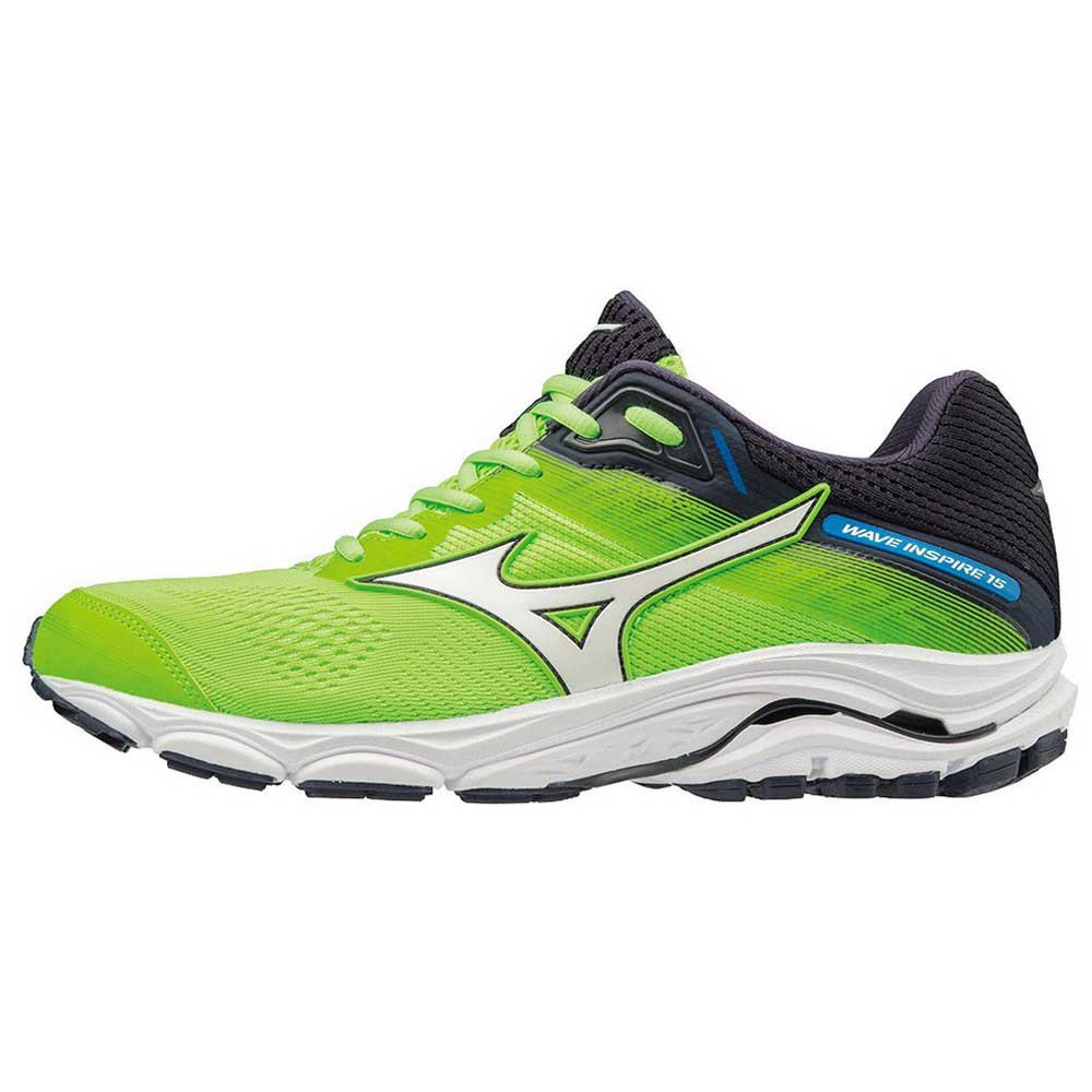 0acc3e9a5d1 Mizuno Wave Inspire 15 Green buy and offers on Runnerinn