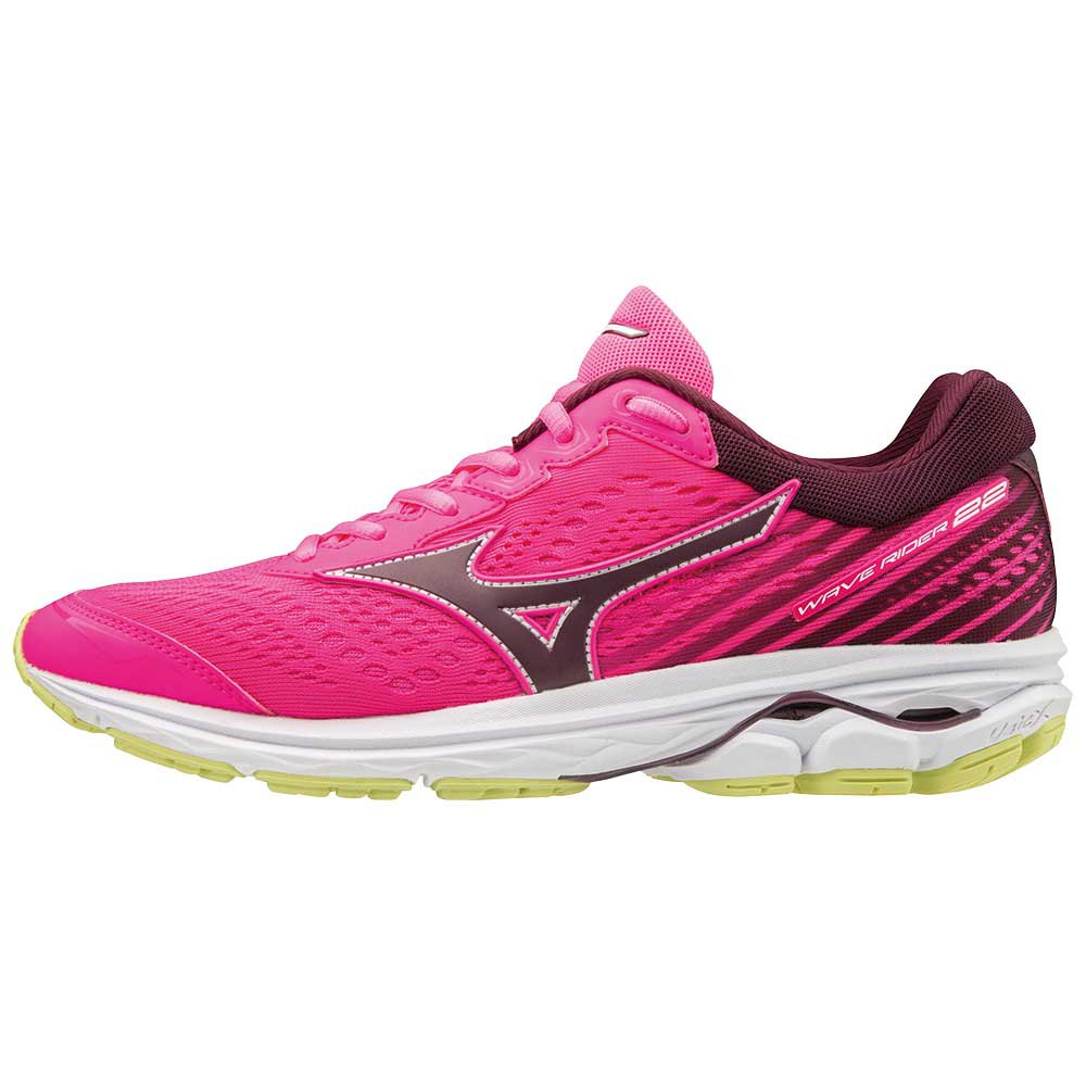 Running Mizuno Wave Rider 22