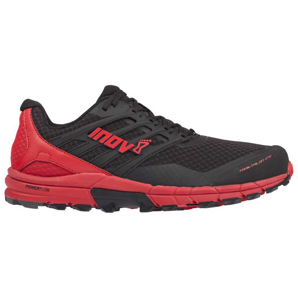 Zapatillas trail running Inov8 Trailtalon 290 EU 44 1/2 Black / Red