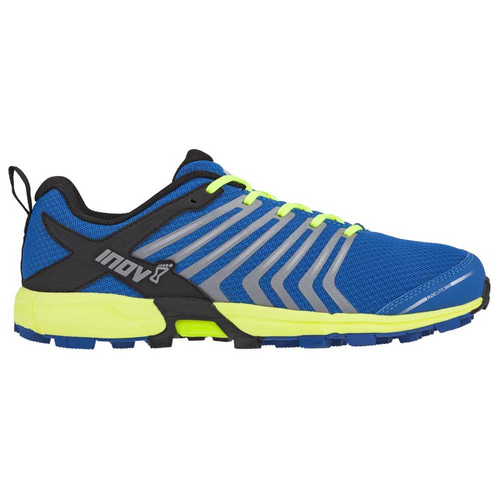 Zapatillas trail running Inov8 Roclite 300 EU 45 Blue / Yellow
