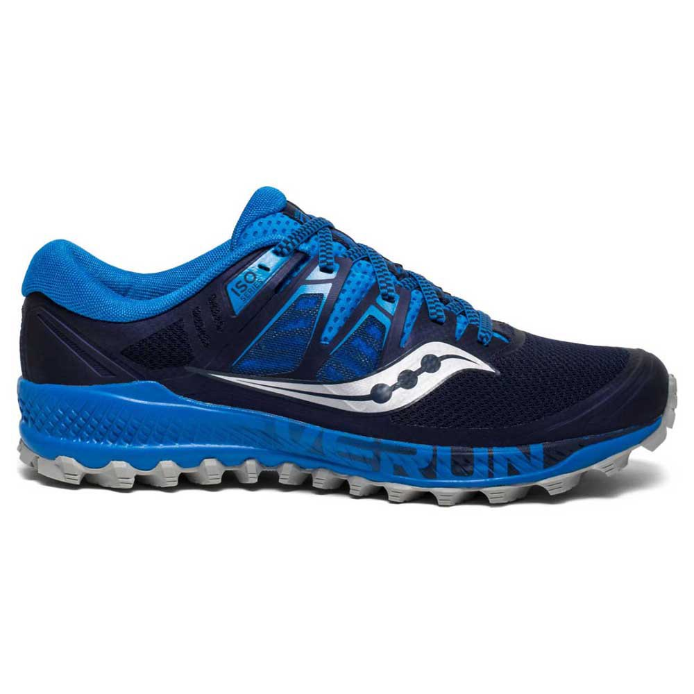 6ae33246bd8 Saucony Peregrine ISO Blue buy and offers on Runnerinn