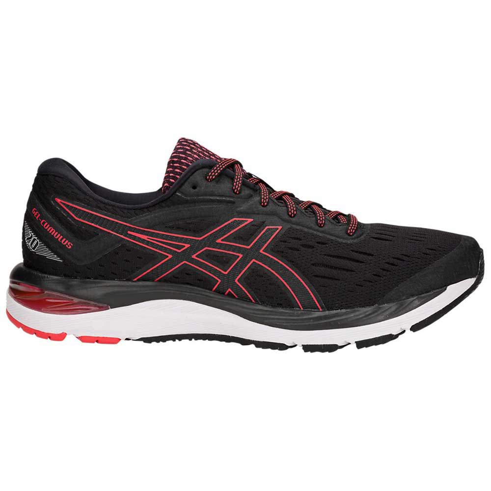Zapatillas running Asics Gel Cumulus 20 EU 50 1/2 Black / Red Alert