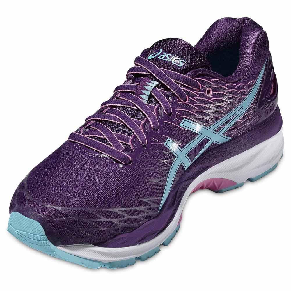 Asics Gel Nimbus 18 Purple buy and offers on Runnerinn 0407b8fc2