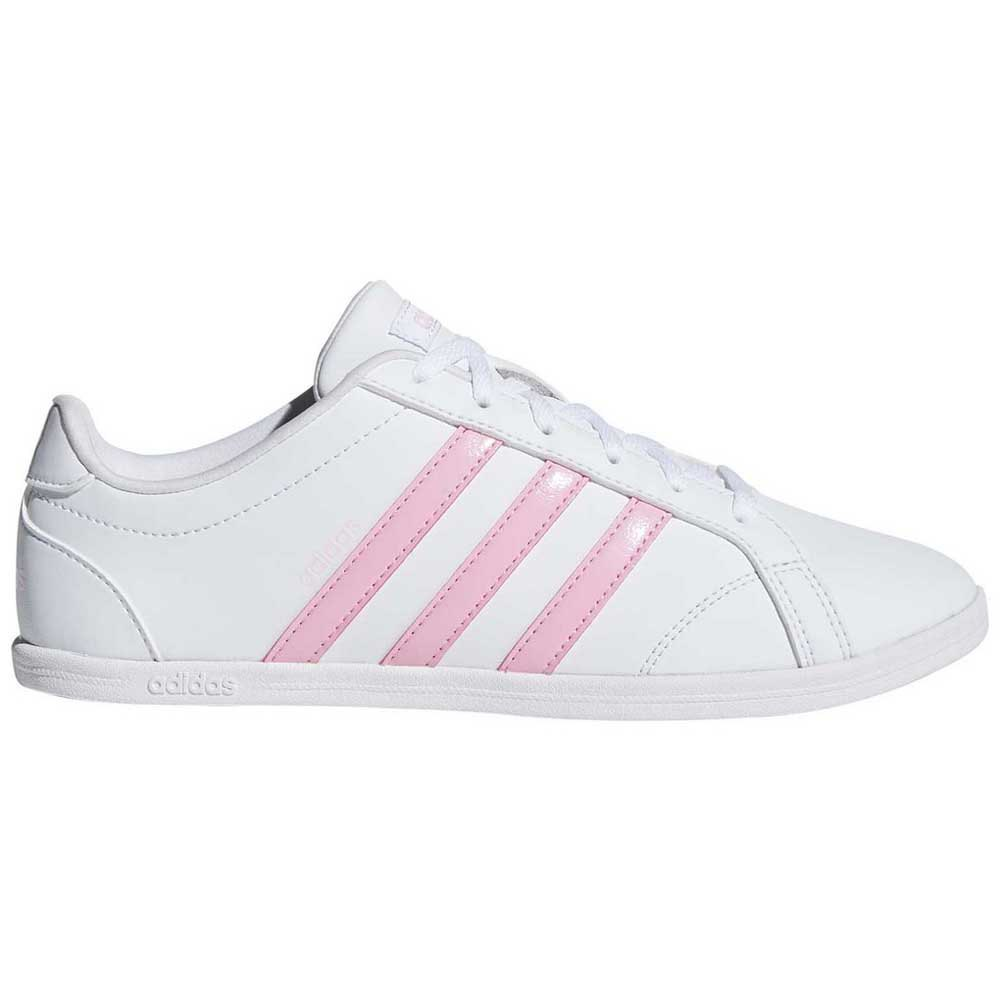 Adelante alias personaje  adidas Coneo QT White buy and offers on Runnerinn
