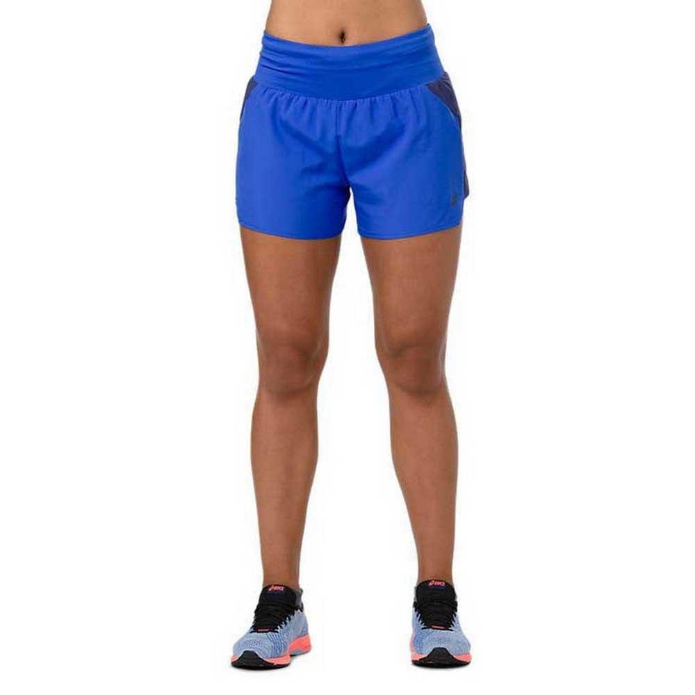 Asics 3.5´´ Short Pants Blue buy and offers on Runnerinn