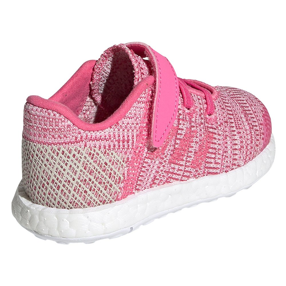 0915db1e1 adidas Pureboost GO EL Infant Pink buy and offers on Runnerinn