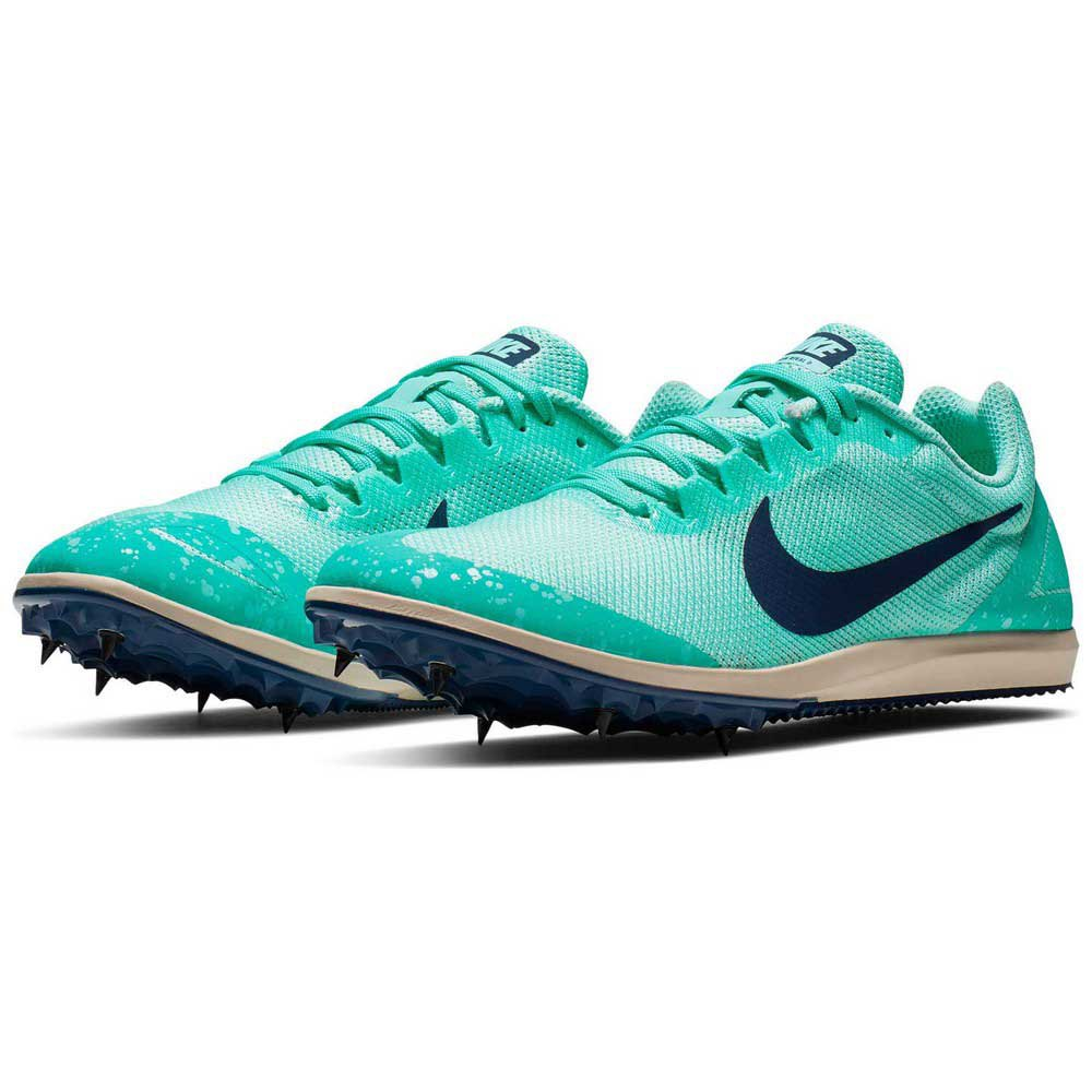 chisme auricular Frágil  Nike Zoom Rival D 10 Green buy and offers on Runnerinn