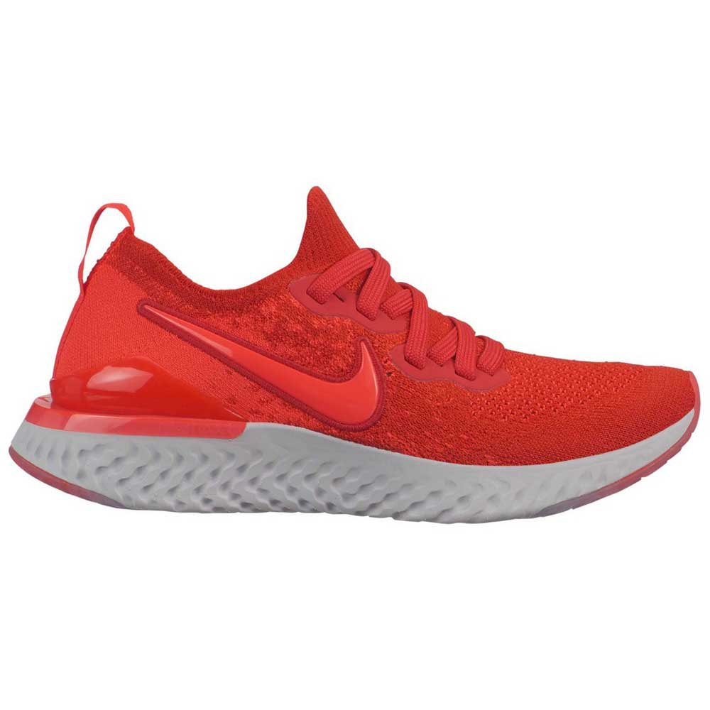 wholesale dealer 45eaf 586d7 Nike Epic React Flyknit 2 GS Red buy and offers on Runnerinn