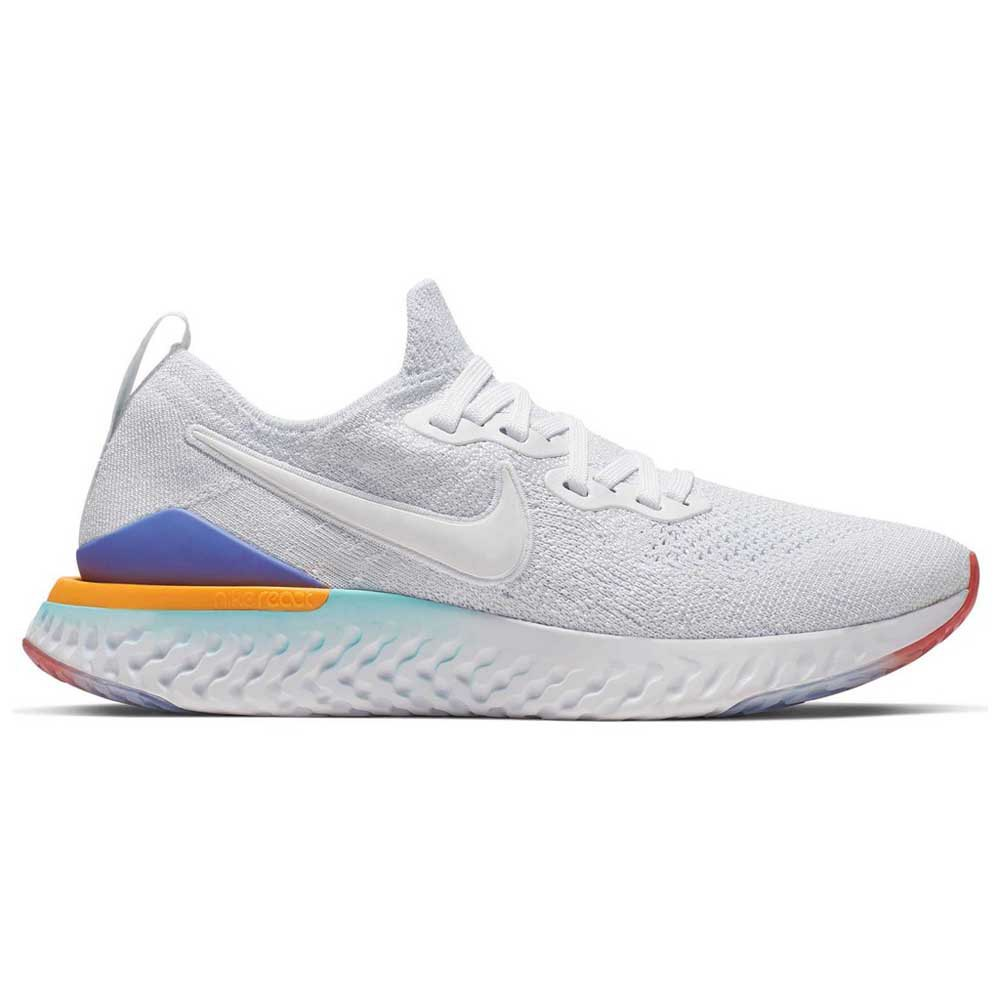 Nike Epic React Flyknit 2 White buy and