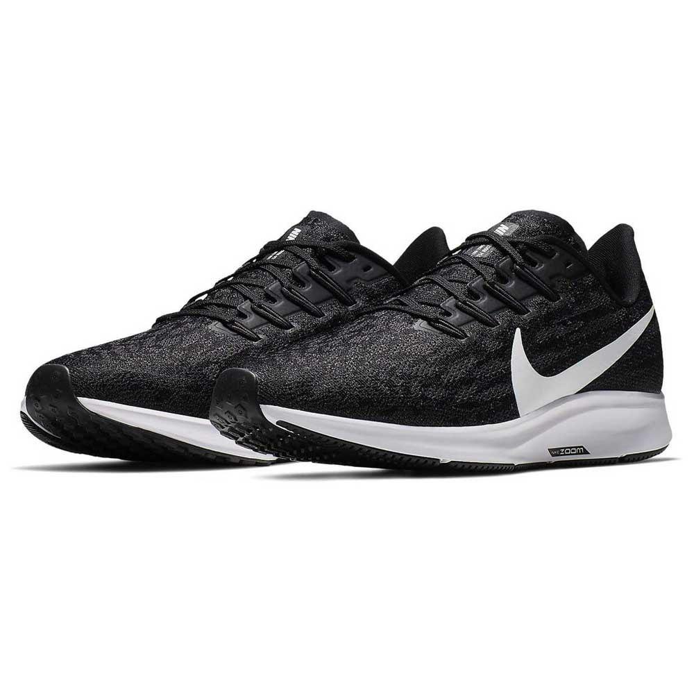 Nike Chaussures Running Air Zoom Pegasus 36 Noir, Runnerinn