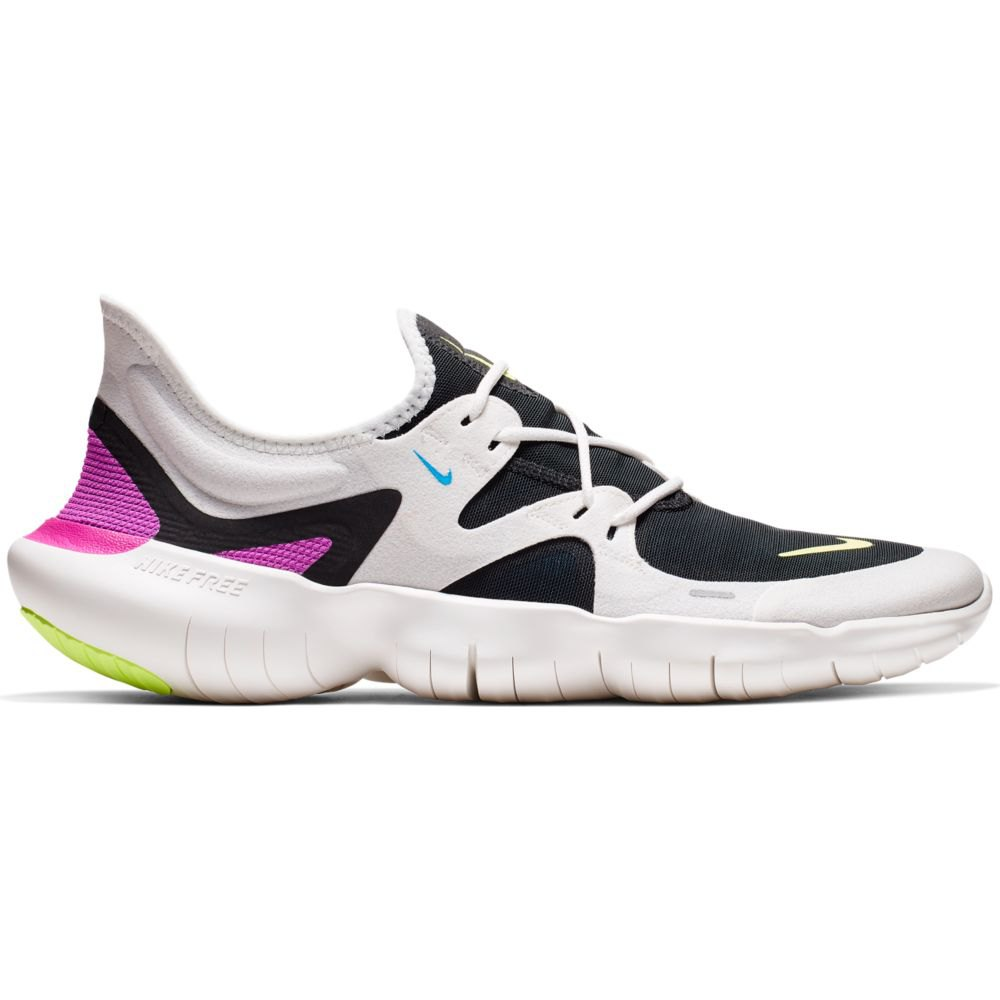 Nike Free RN 5.0 summit white/black/blue hero/volt glow