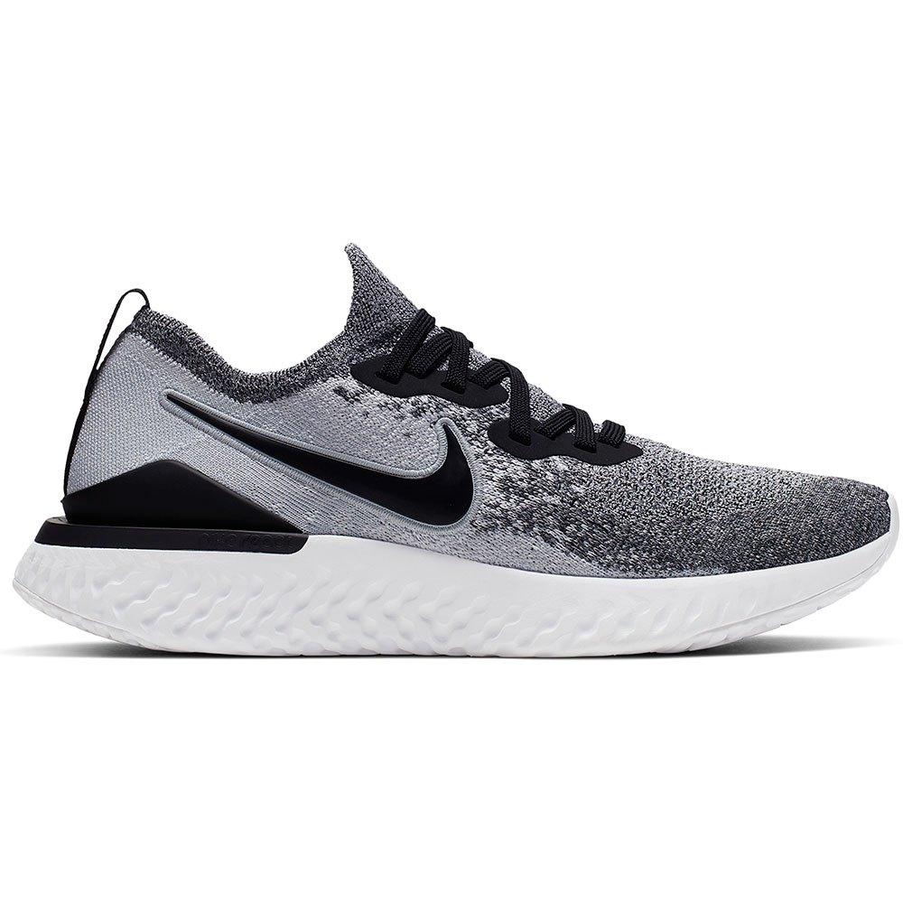 gastos generales Folleto familia real  Nike Epic React Flyknit 2 Cinzento comprar e ofertas na Runnerinn Running