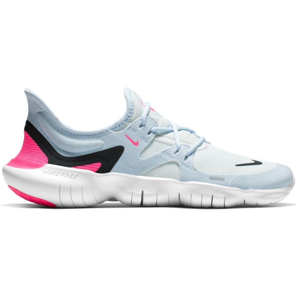 Nike Free Rn 5.0 EU 40 1/2 White / Black / Half Blue / Hyper Pink