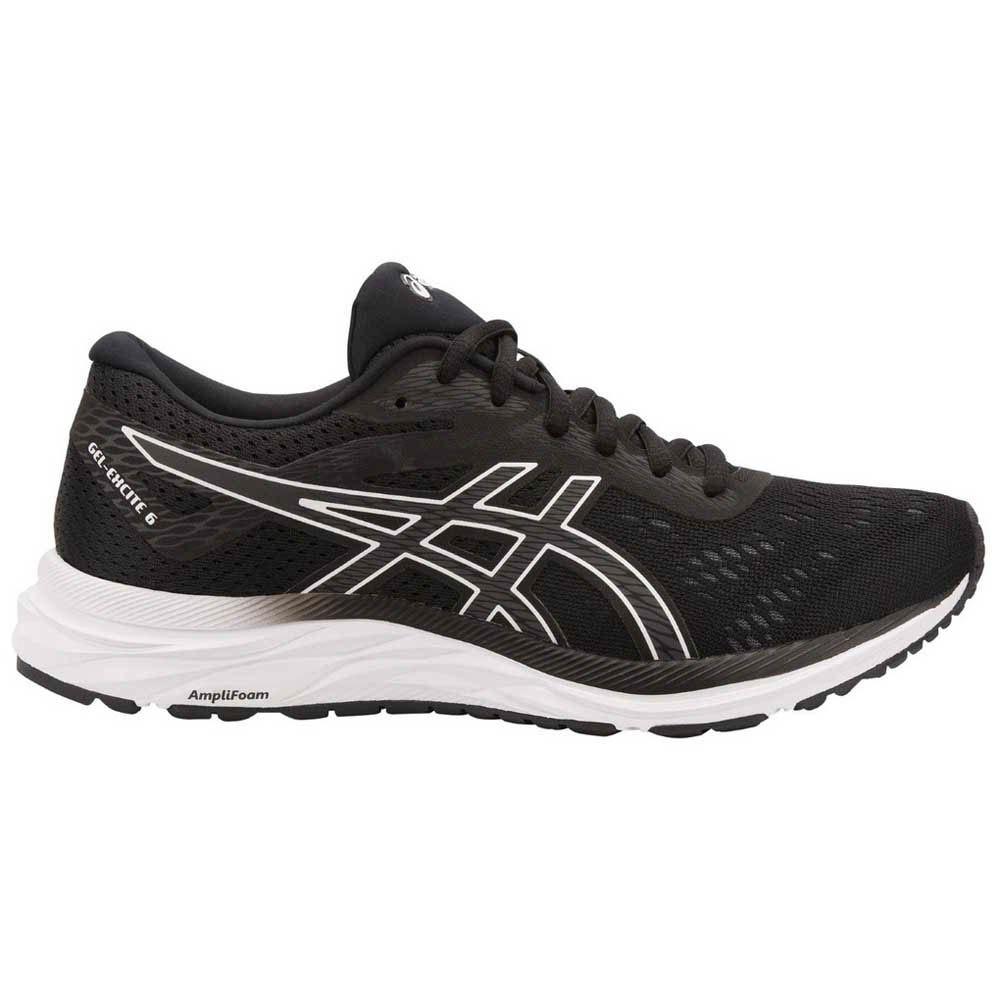 Zapatillas running Asics Gel Excite 6 EU 41 1/2 Black / White