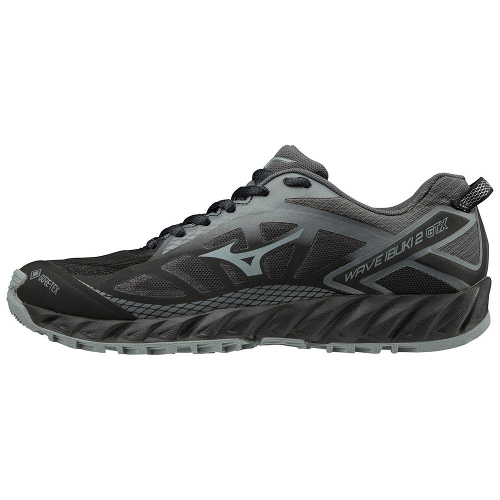 Mizuno Wave Ibuki 2 Goretex EU 36 1/2 Black / Monument / Dark Shadow