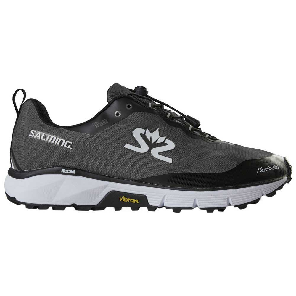 Zapatillas trail running Salming Trail Hydro EU 40 2/3 Grey / Black