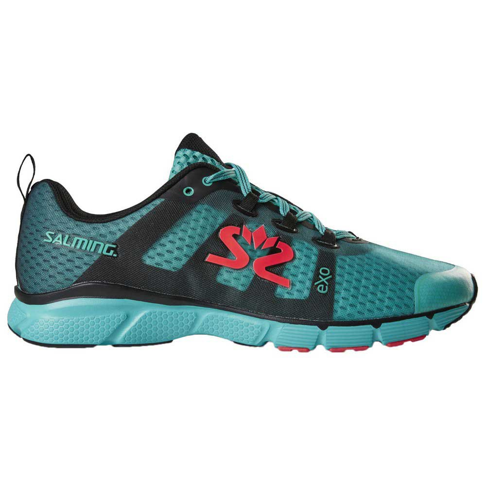 Salming Women Enroute 2 Neutral Running Shoe Running Shoes Light Blue Black 5,5