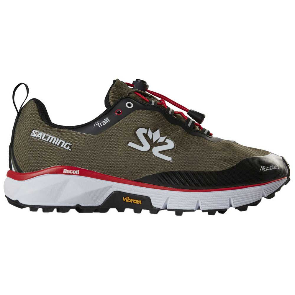 Zapatillas trail running Salming Trail Hydro EU 36 Grape Leaf / Black