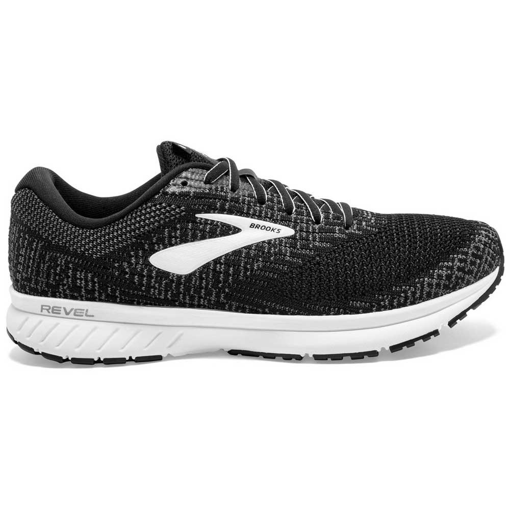 Brooks Revel 3 EU 40 Black / Blackened Pearl / White