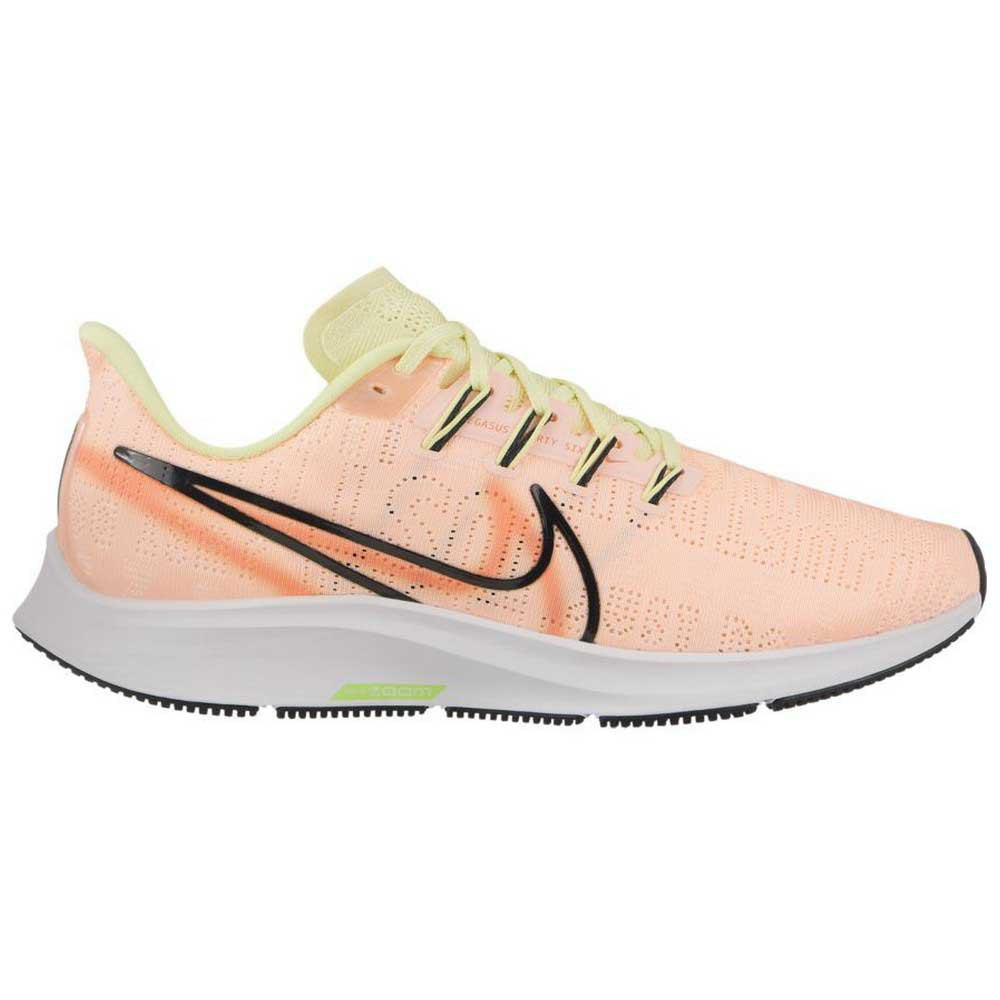 Nike Air Zoom Pegasus 36 Premium Rise EU 38 Crimson Tint / Black / Luminous Green