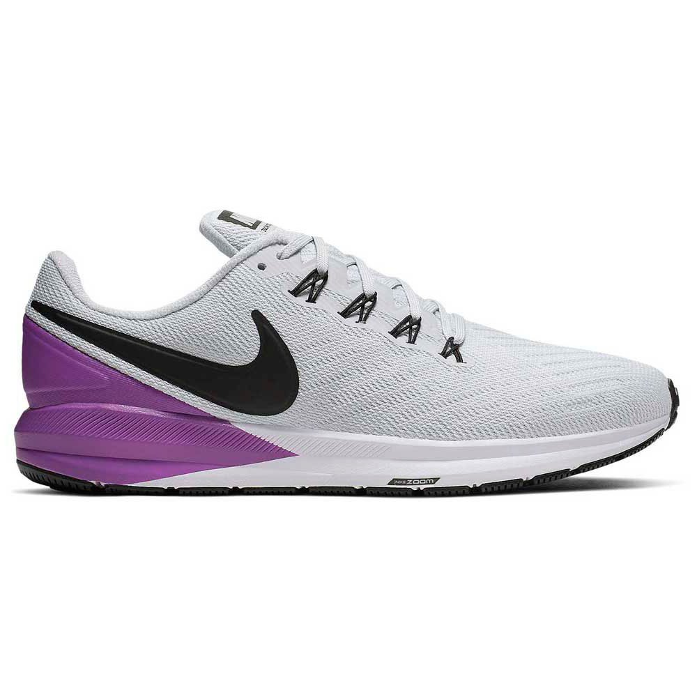 Nike Air Zoom Structure 22 (AA1636) pure platinum/hyper violet/white/black