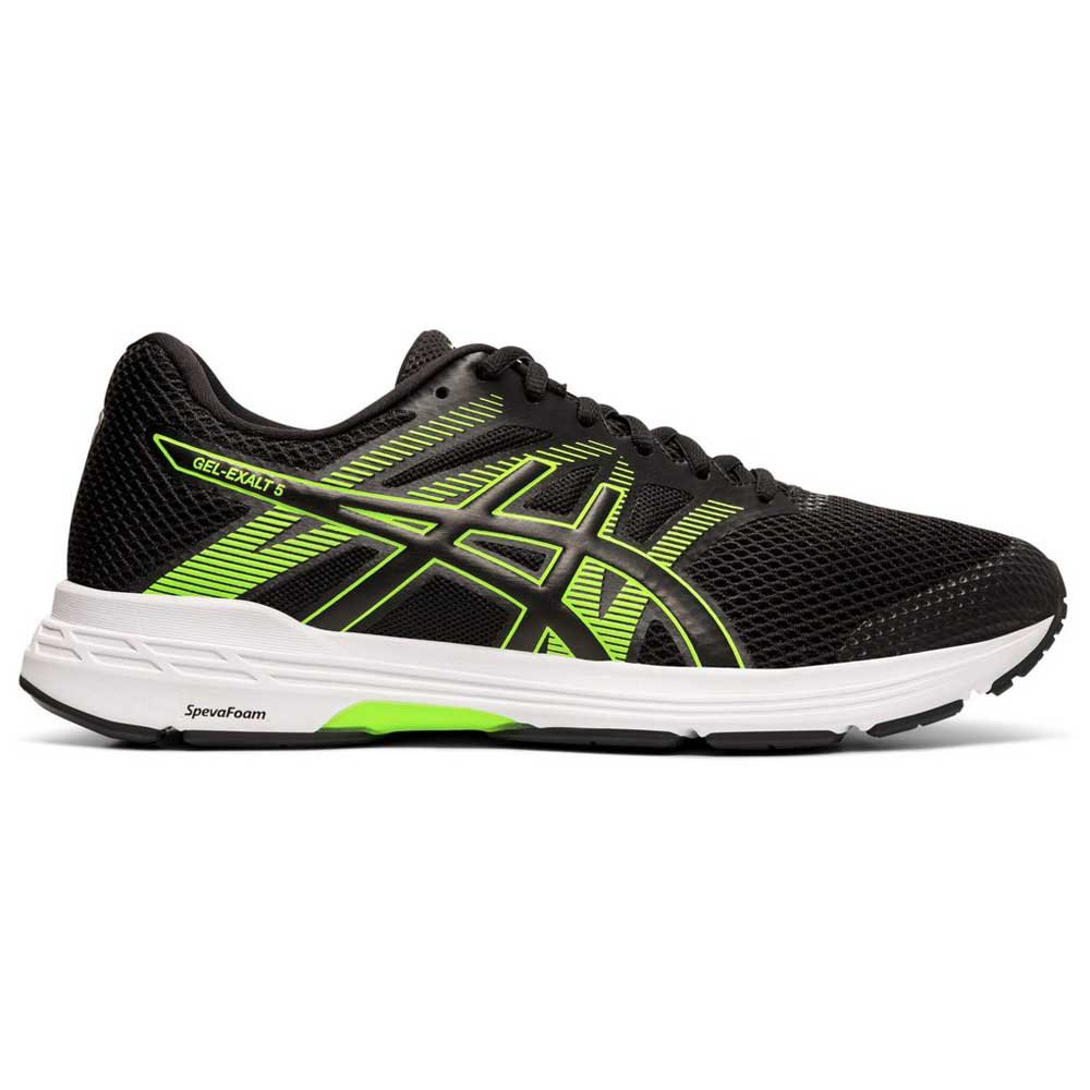Zapatillas running Asics Gel Exalt 5 EU 39 1/2 Black / Green Gecko
