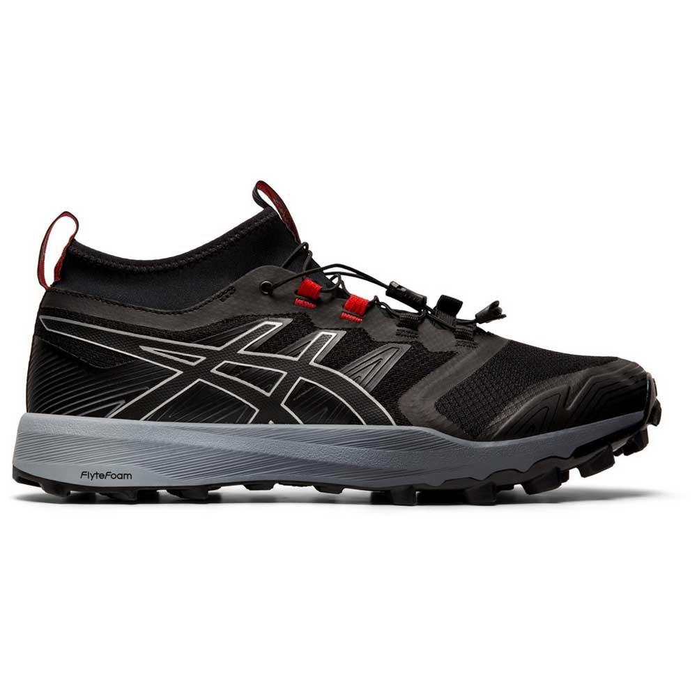 Asics Gel Fujitrabuco Pro Trail Running Shoes Black, Runnerinn