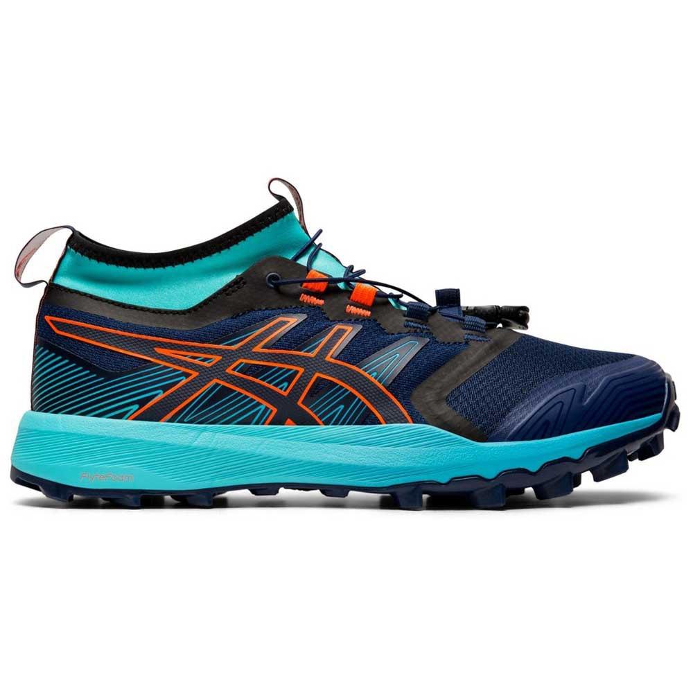 Asics Gel FujiTrabuco Pro Trail Running Shoes Blue, Runnerinn