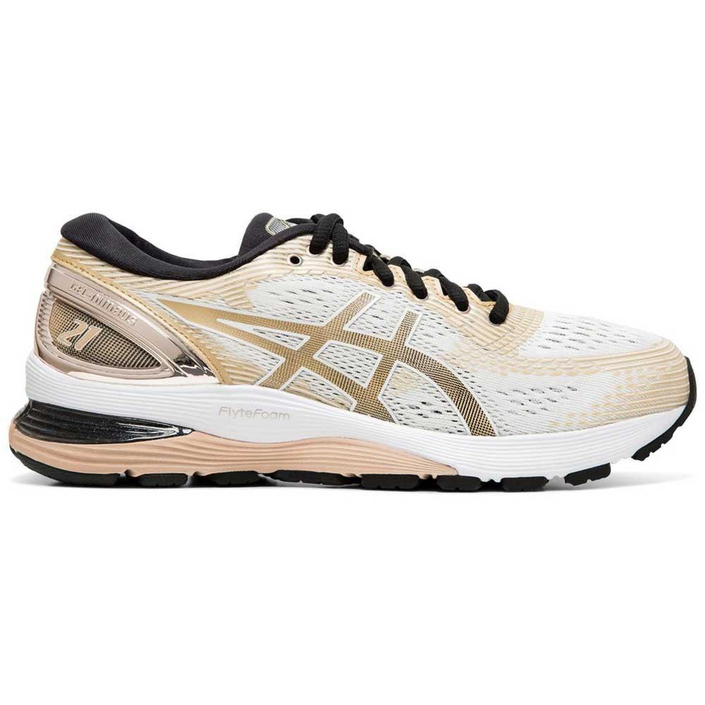 Asics Gel Nimbus 21 Platinum Running Shoes