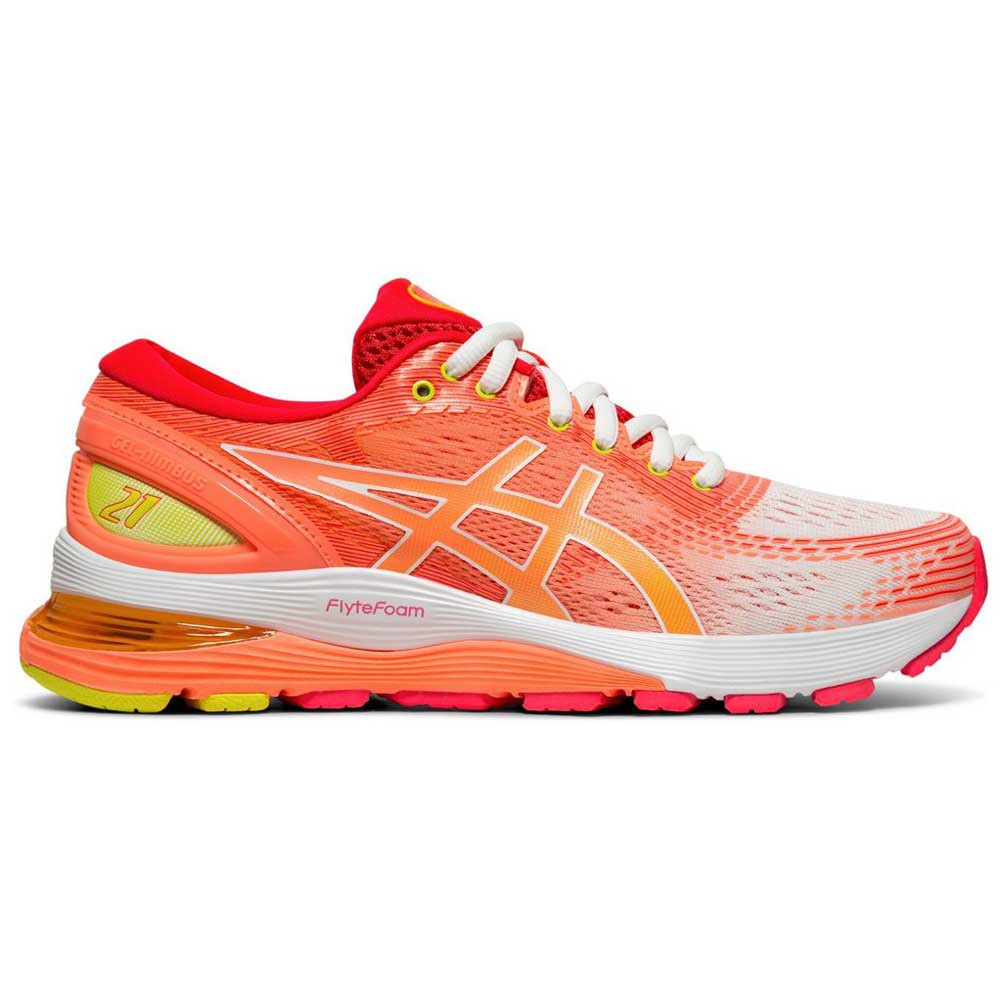 Running Asics Gel Nimbus 21 Shine