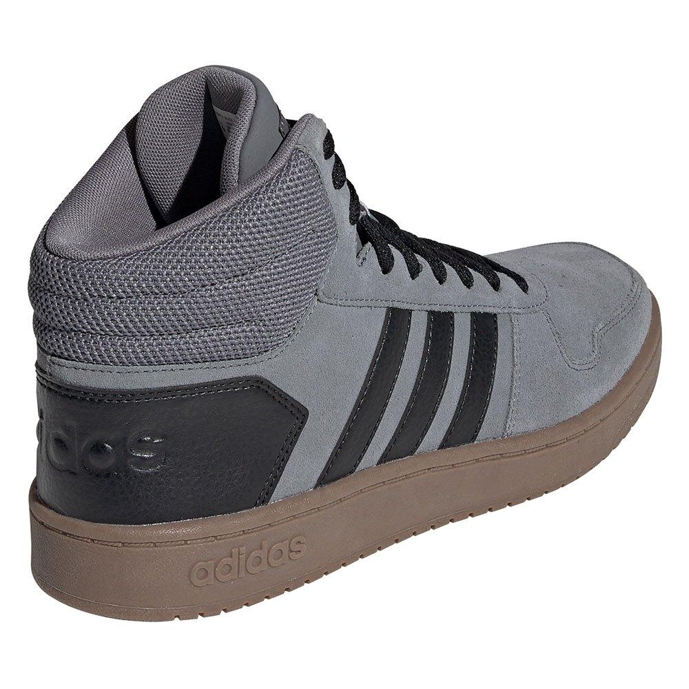 adidas Hoops 2.0 Mid Grey buy and