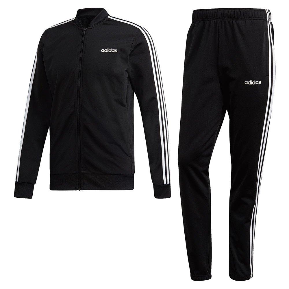 storia Frontiera Gallina  adidas Back 2 Basics 3 Stripes Tracksuit Regular Beige, Runnerinn