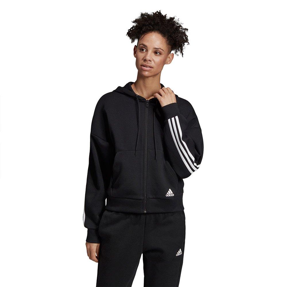 adidas Must Have 3 Stripes Double Knit Sweatshirt, Felpa