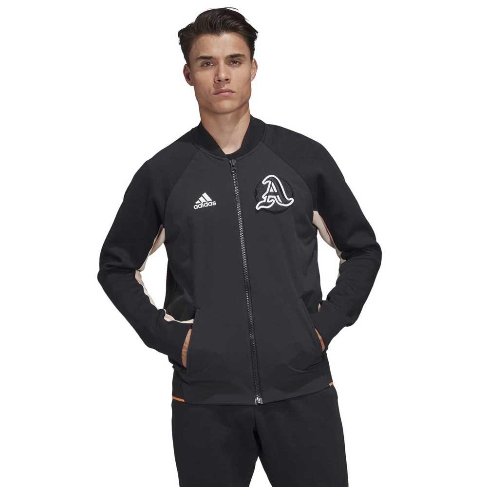 adidas Varsity Jacket Regular Svart kjøp og tilbud