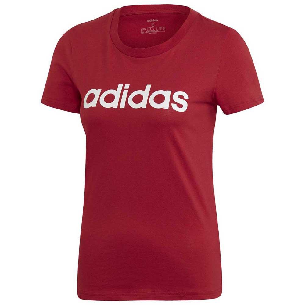 adidas Essentials Linear Slim Rood, Runnerinn T shirts
